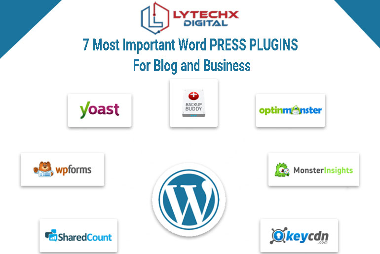 7 Most Important WordPress Plugins for Blogs and Business