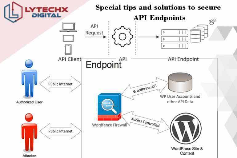 Special tips and solutions to secure API endpoints