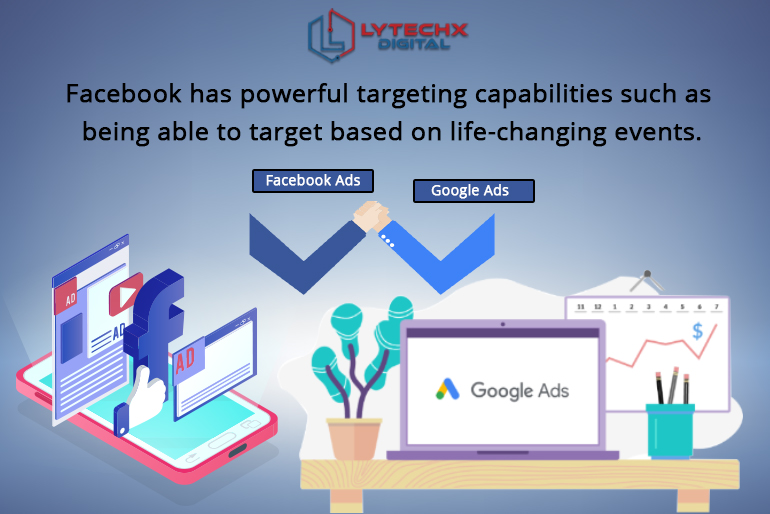 What is the Difference between Facebook Ads OR Google Ads