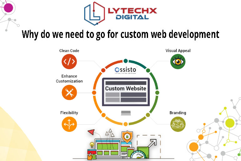 Why Do We Need To Go For Custom Web Development?