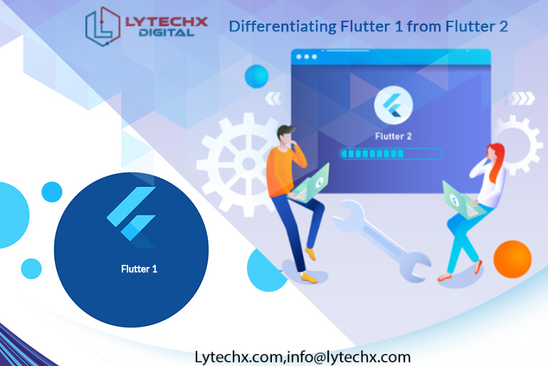 Differentiating Flutter 1 from Flutter 2