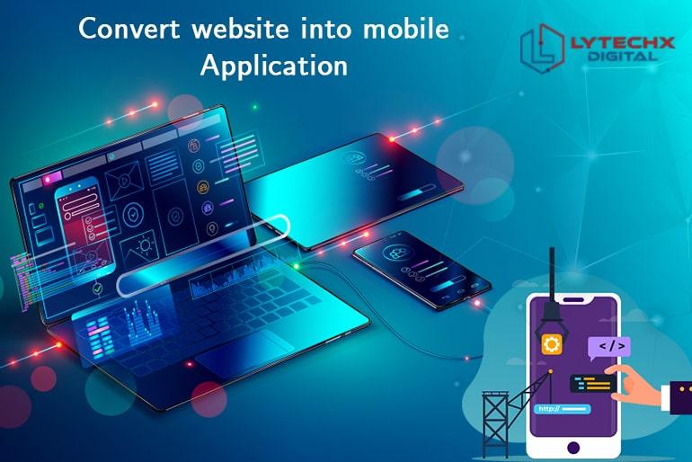 Convert Website Into Mobile Application