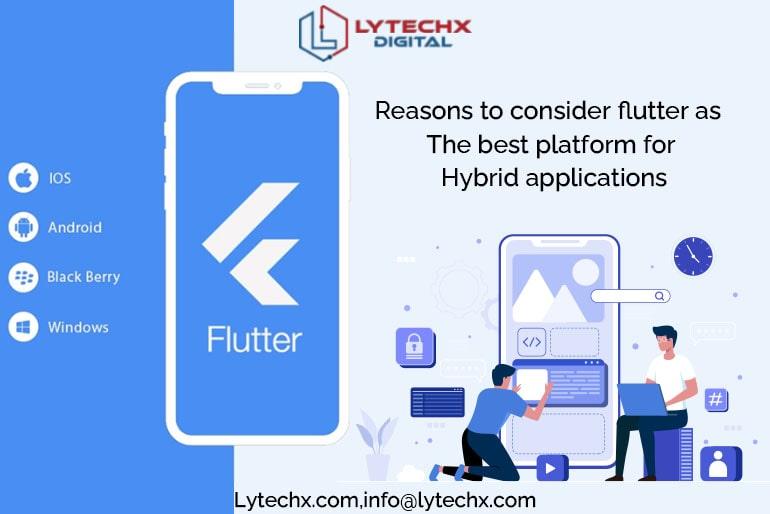 Why Flutter is the Best Platform to Make Hybrid Apps?